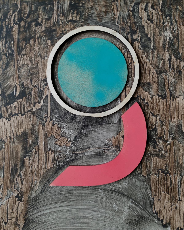 Kunst: Study XXXII van kunstenaar Daniel Martin