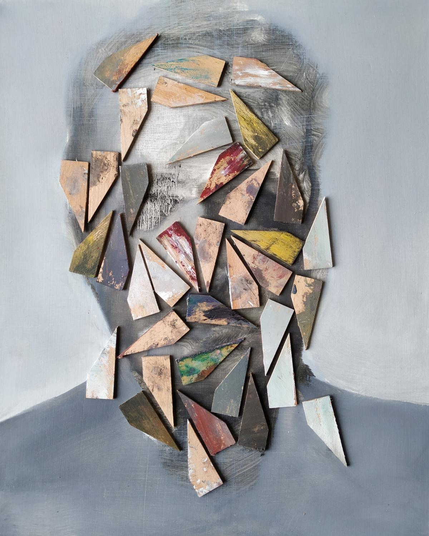 Kunst: Study XXXVIII van kunstenaar Daniel Martin