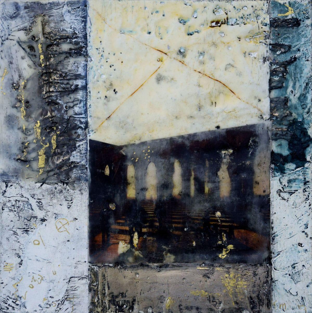 Kunst: Sunny afternoon in Casa Blanca I van kunstenaar Trijnie Mohlmann