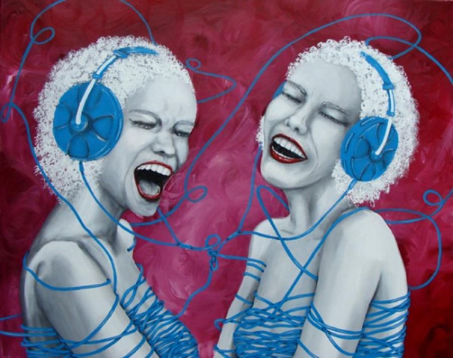 Kunst: Swing van kunstenaar Tamara Sille