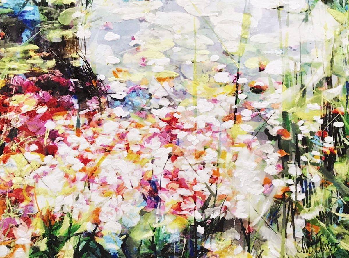 Kunst: Symbiose 100-01 van kunstenaar Suus Suiker