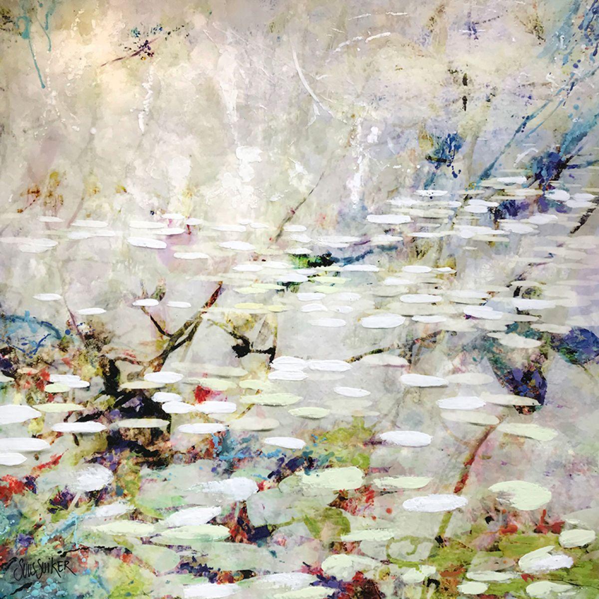 Kunst: Symbiose 110-07 van kunstenaar Suus Suiker