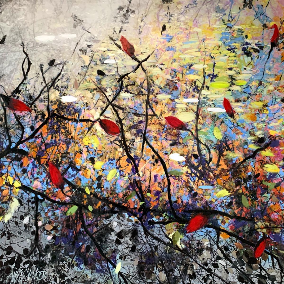 Kunst: Symbiose 110-10 van kunstenaar Suus Suiker
