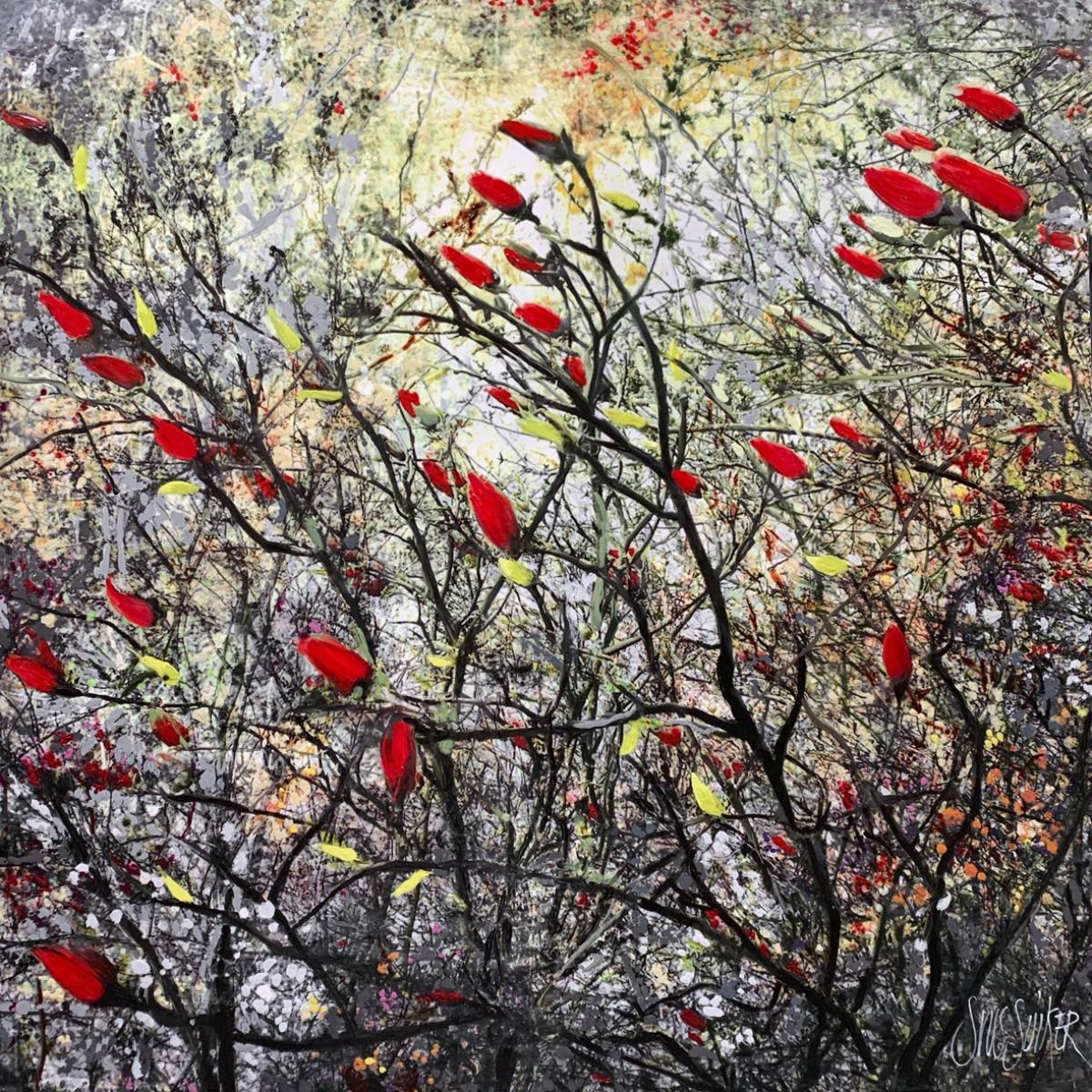 Kunst: Symbiose 110-11 van kunstenaar Suus Suiker