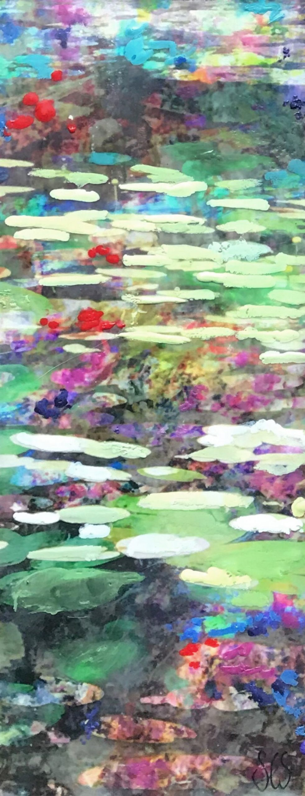 Kunst: Symbiose 12-04 van kunstenaar Suus Suiker