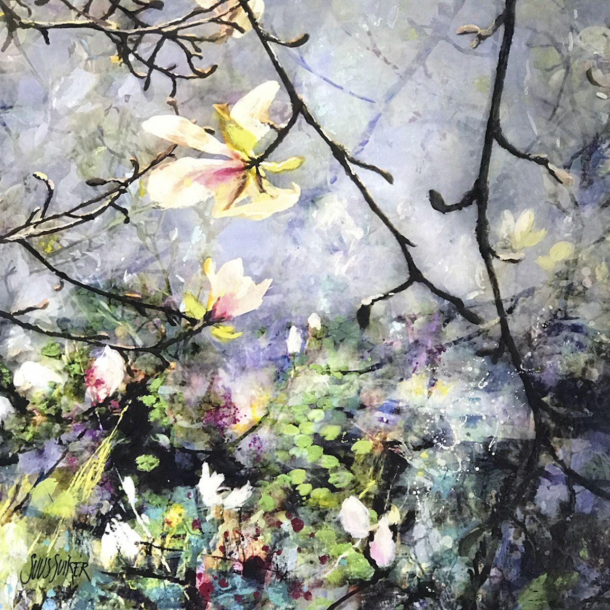 Kunst: Symbiose 120-01 van kunstenaar Suus Suiker