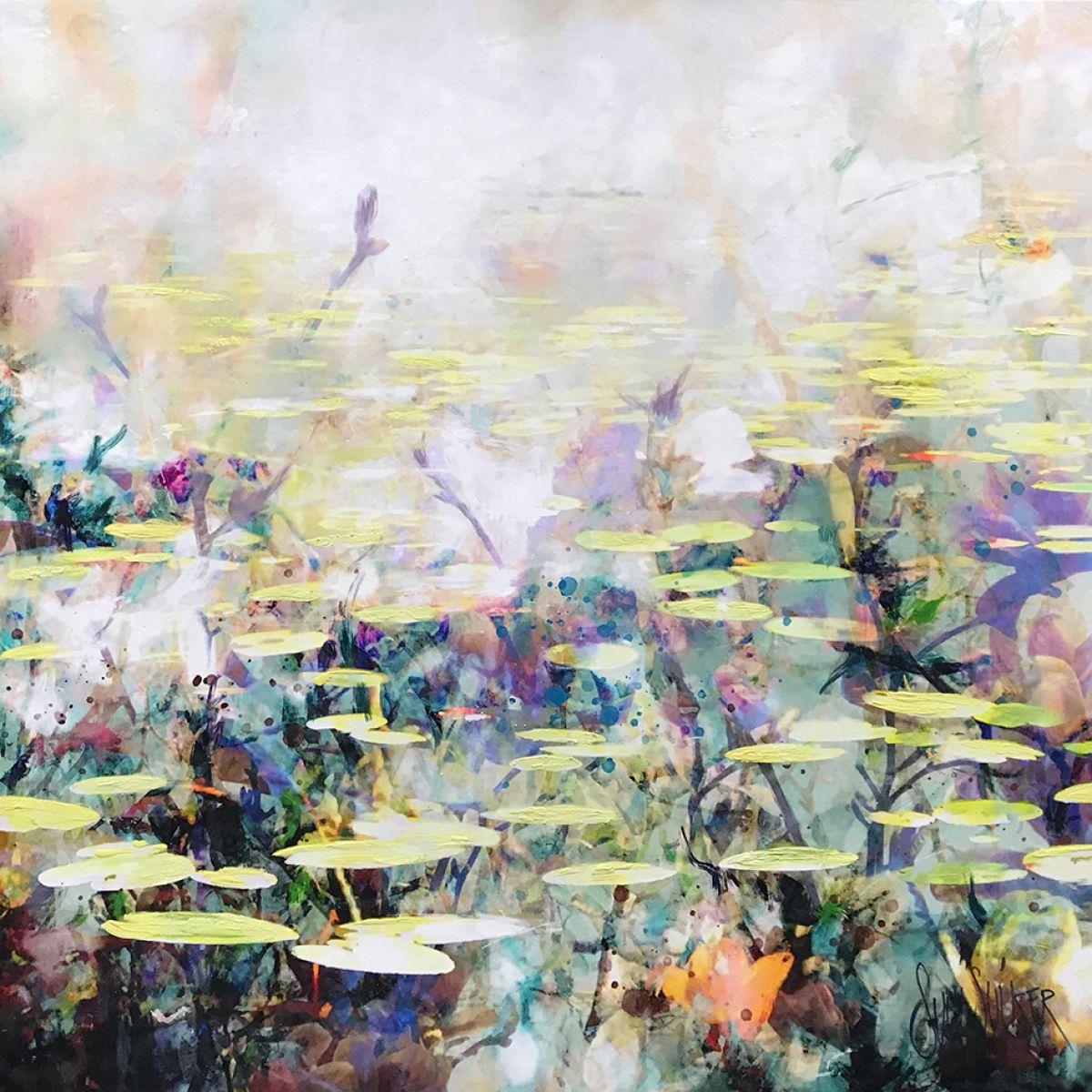 Kunst: Symbiose 120-02 van kunstenaar Suus Suiker