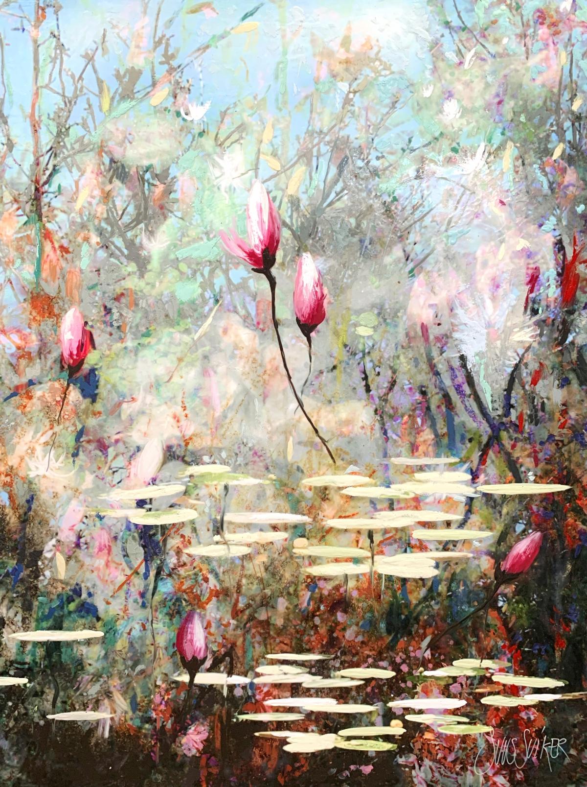 Kunst: Symbiose 120-04 van kunstenaar Suus Suiker