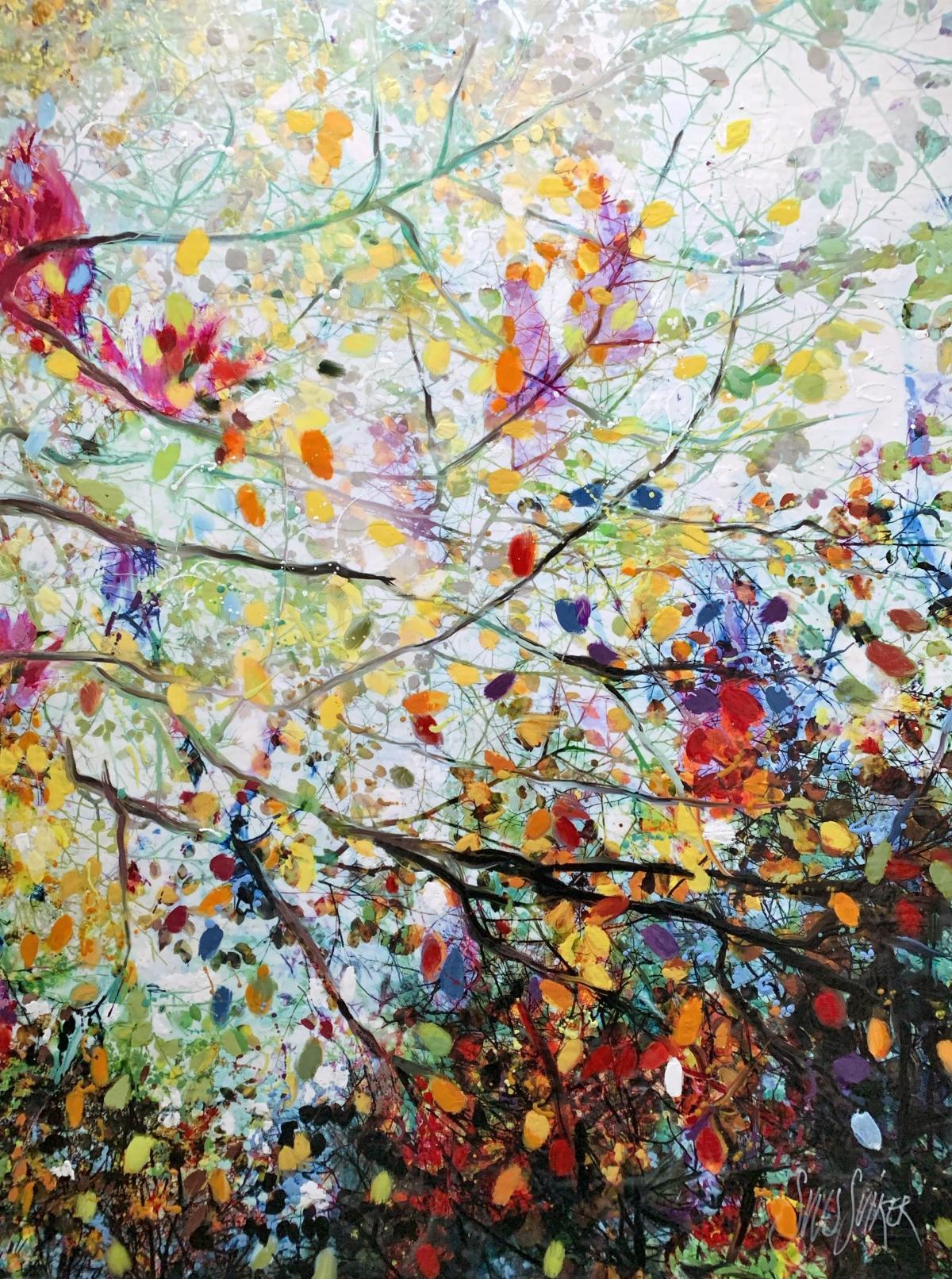 Kunst: Symbiose 120-05 van kunstenaar Suus Suiker