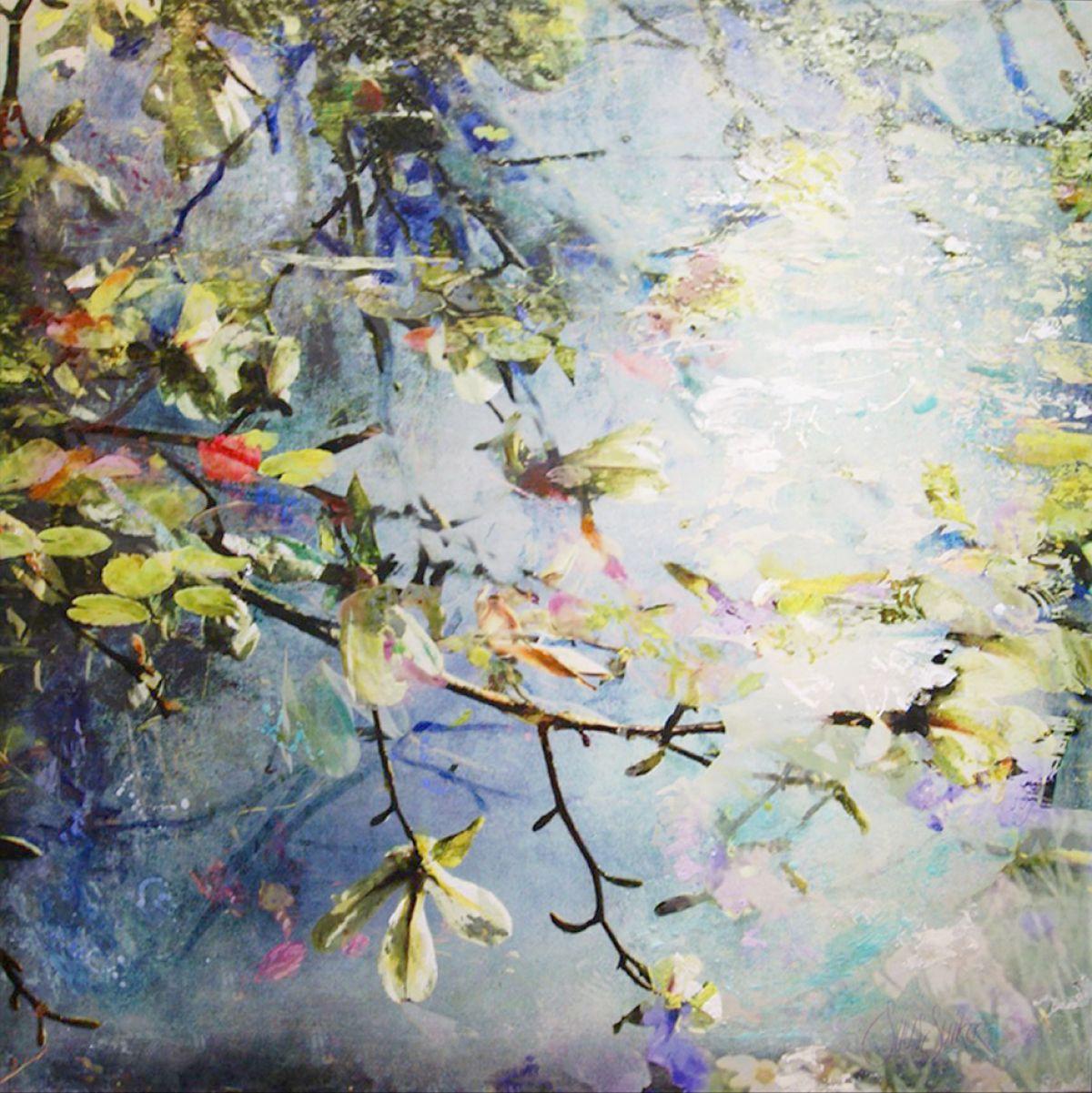 Kunst: Symbiose 130-04 van kunstenaar Suus Suiker