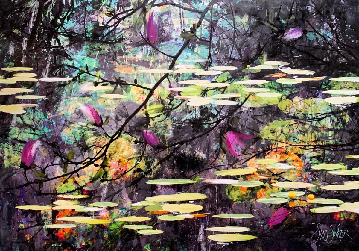 Kunst: Symbiose 130-14 van kunstenaar Suus Suiker