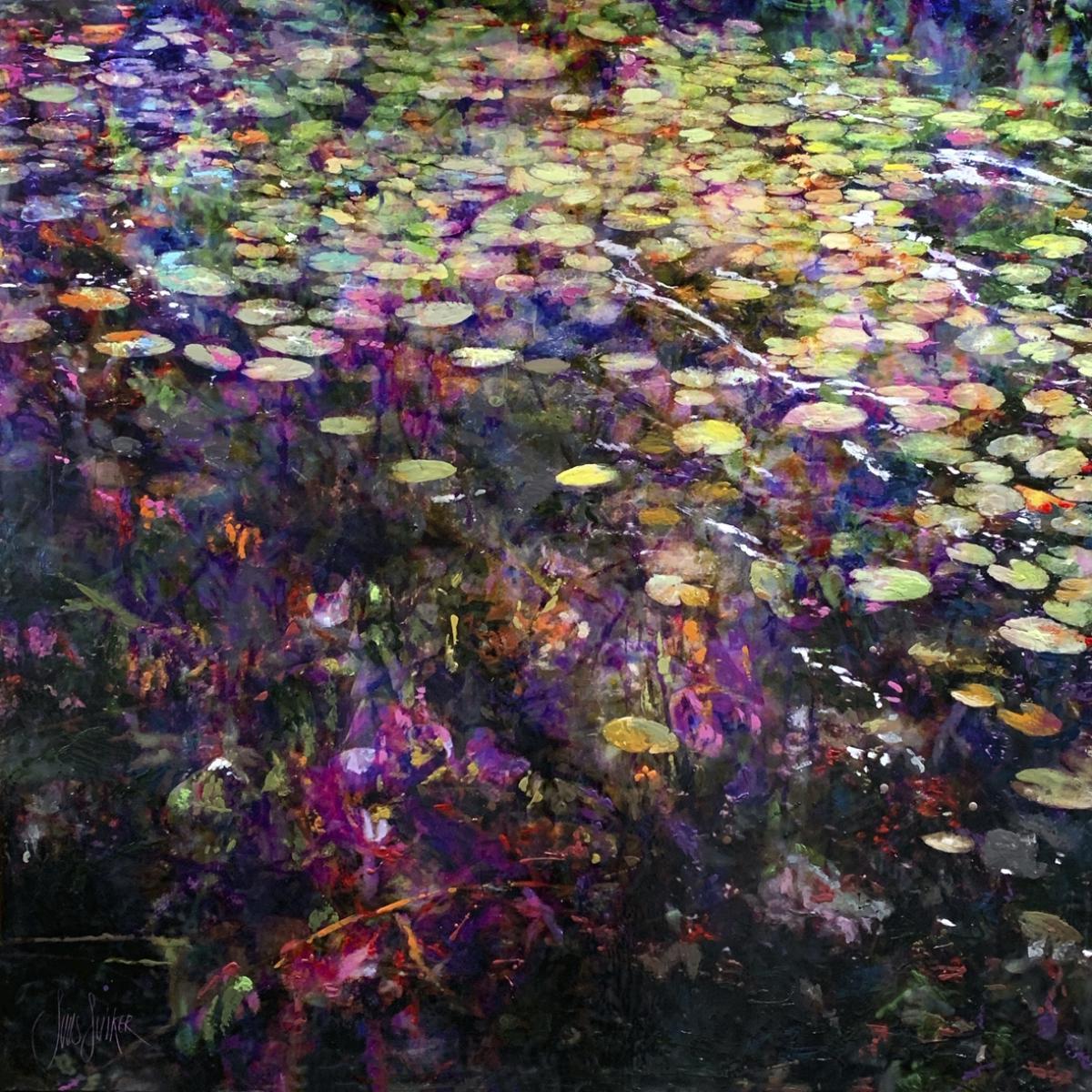 Kunst: Symbiose 140-01 van kunstenaar Suus Suiker
