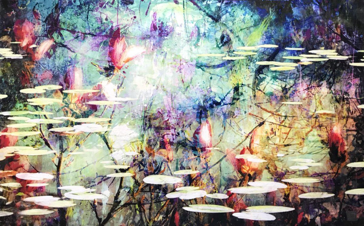 Kunst: Symbiose 140-03 van kunstenaar Suus Suiker
