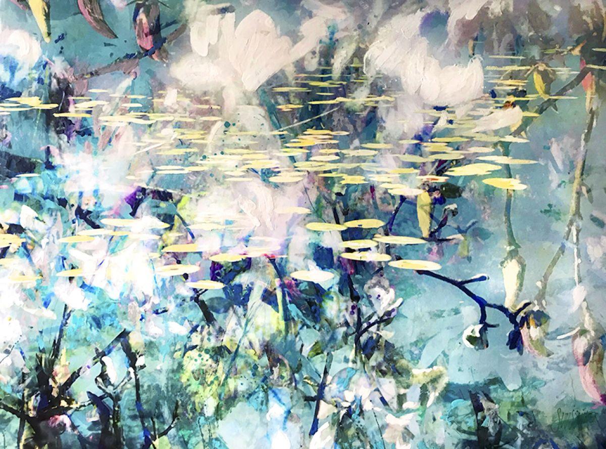 Kunst: Symbiose 140-04 van kunstenaar Suus Suiker