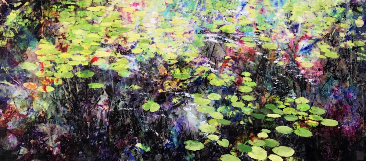 Kunst: Symbiose 160-05 van kunstenaar Suus Suiker