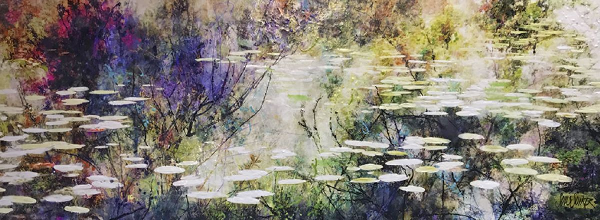 Kunst: Symbiose 160-07 van kunstenaar Suus Suiker