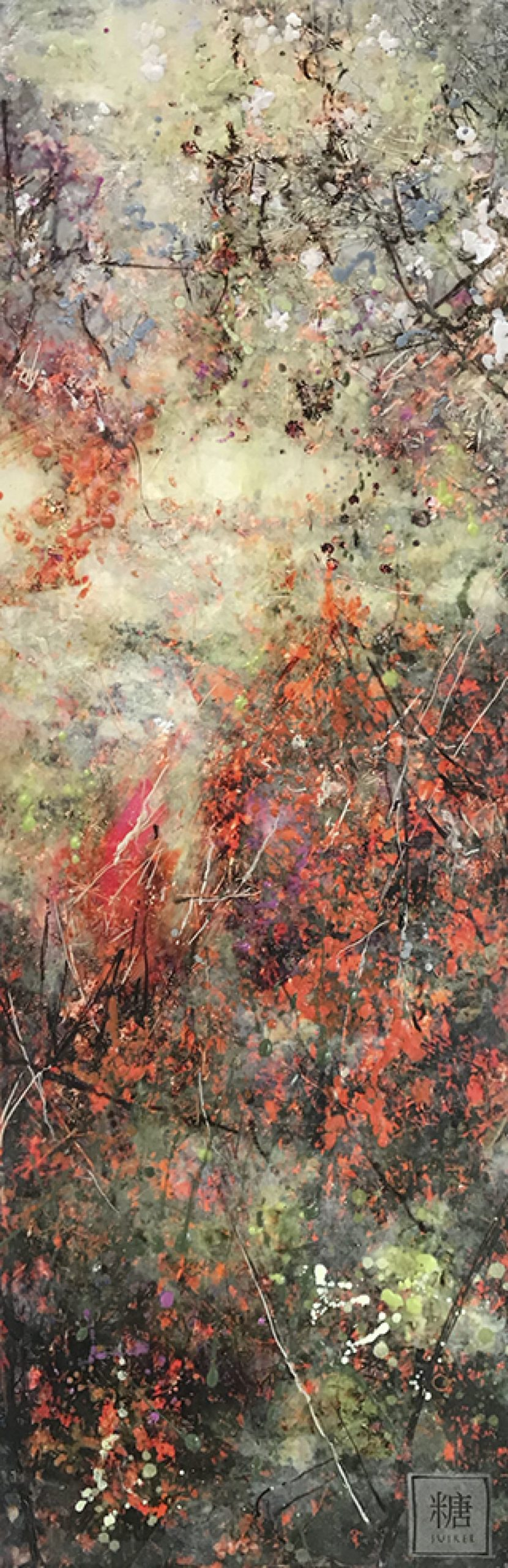 Kunst: Symbiose 25-01 van kunstenaar Suus Suiker