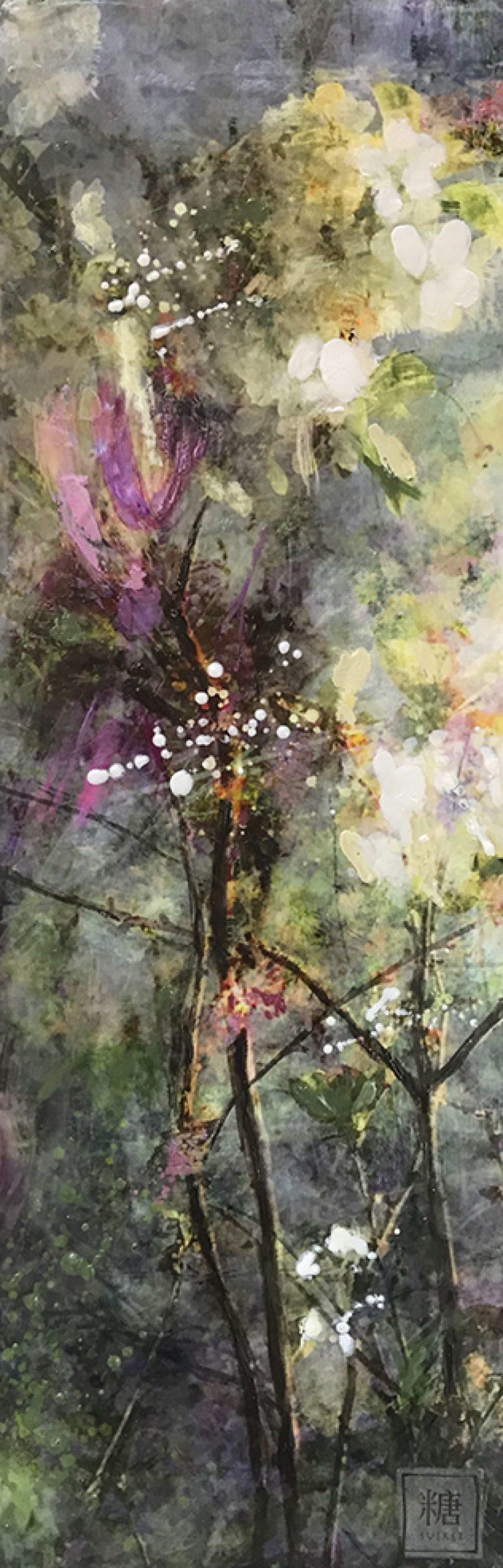 Kunst: Symbiose 25-02 van kunstenaar Suus Suiker