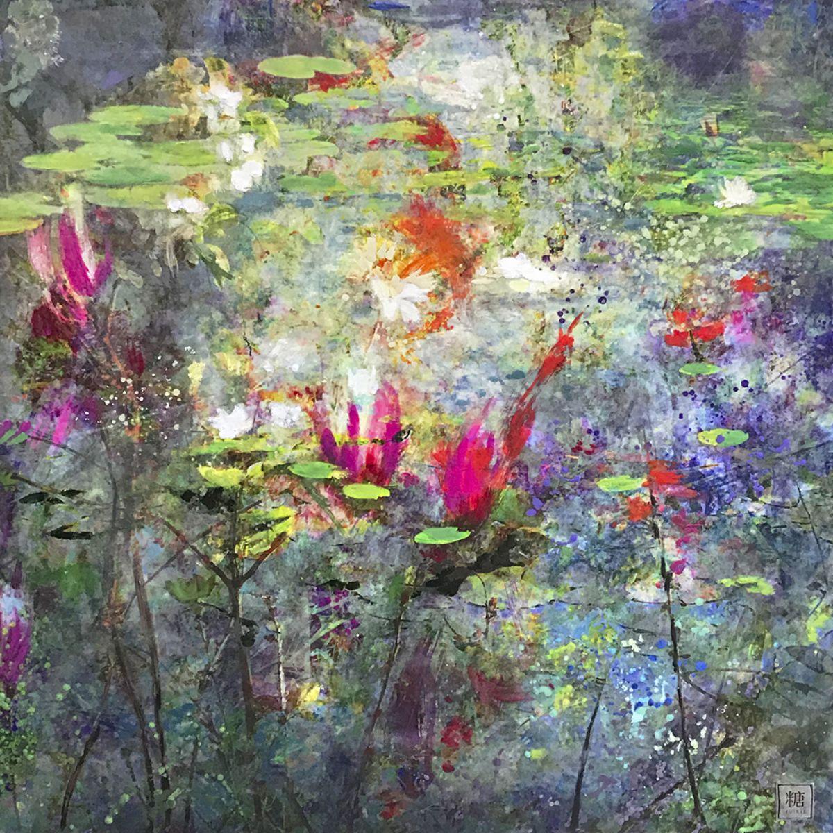Kunst: Symbiose 90-06 van kunstenaar Suus Suiker