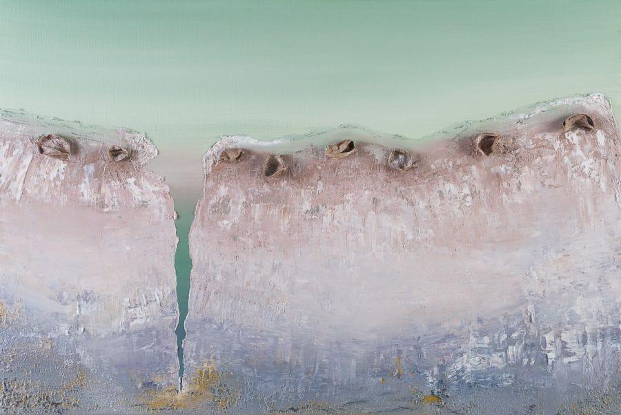 Kunst: Talking with silence van kunstenaar Els Vegter