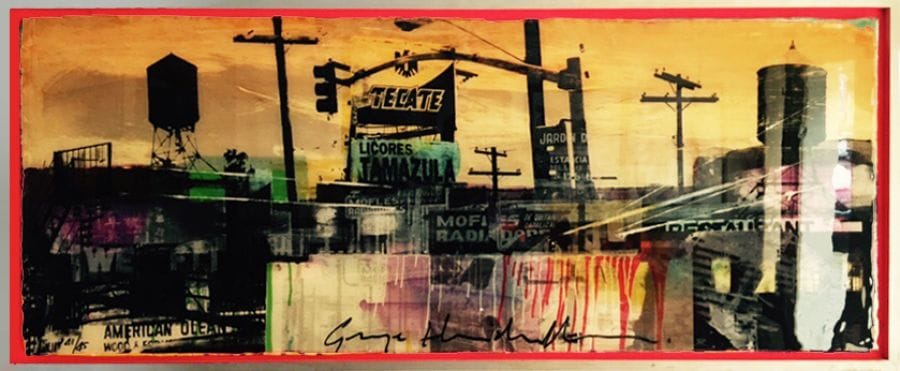 Kunst: Tecate van kunstenaar  George Heidweiller