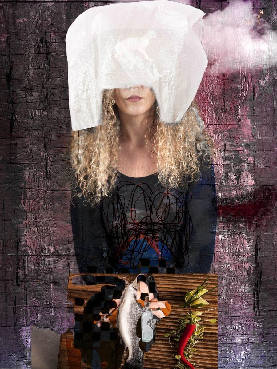 Kunst: Tess Woman from the Moorland. Limited Edition 8. In drie uitvoeringen verkrijgbaar.!!! van kunstenaar Geert Lemmers