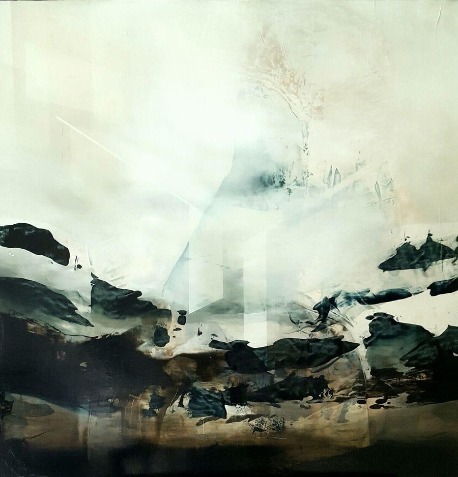 Kunst: the ascent I van kunstenaar Joachim van der Vlugt