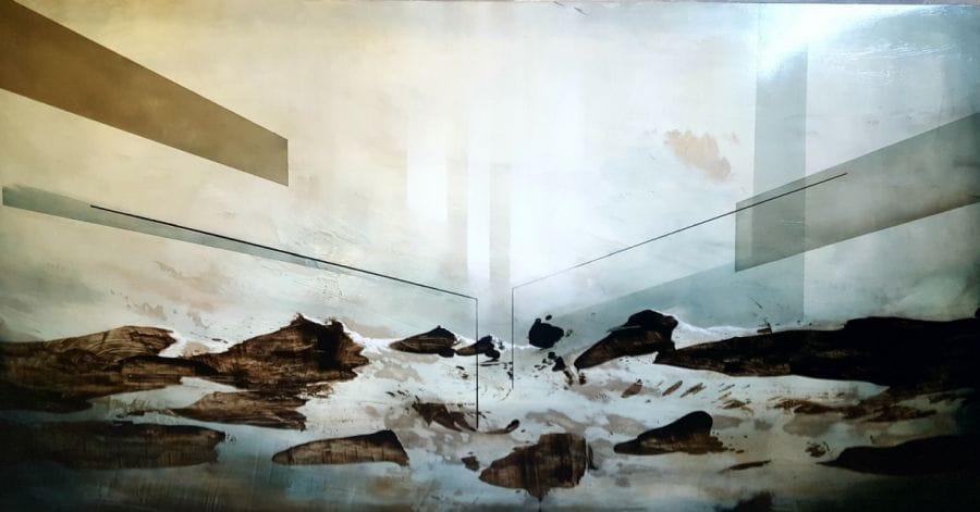 Kunst: the Ascent II van kunstenaar Joachim van der Vlugt
