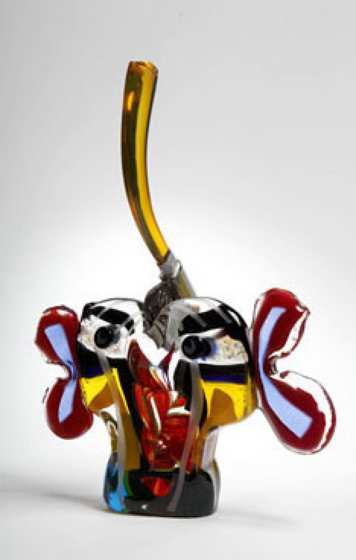 Kunst: The Axe Man 1 van kunstenaar Louis la Rooy