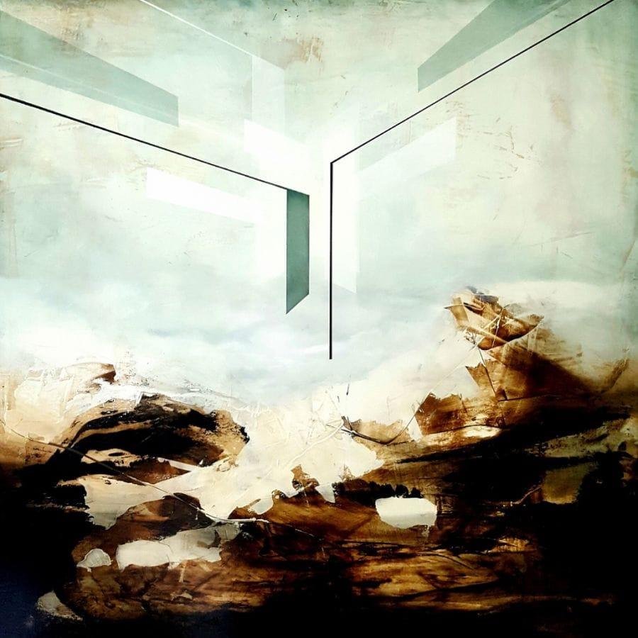 Kunst: the Event III van kunstenaar Joachim van der Vlugt