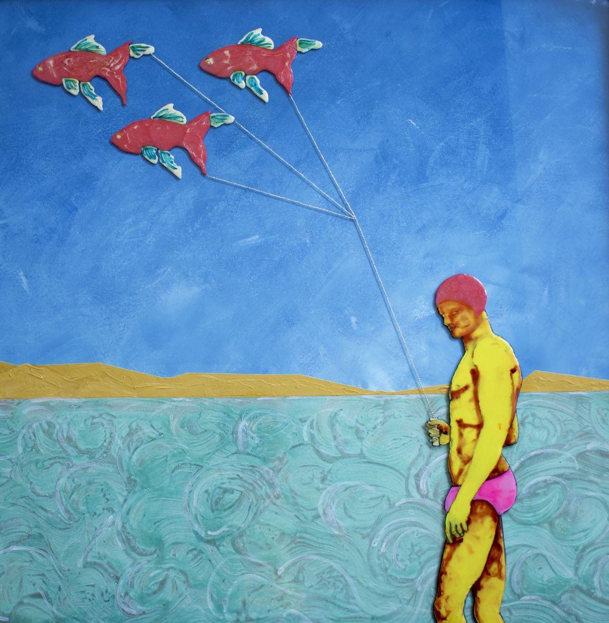 Kunst: The fish-walker van kunstenaar  Beddru