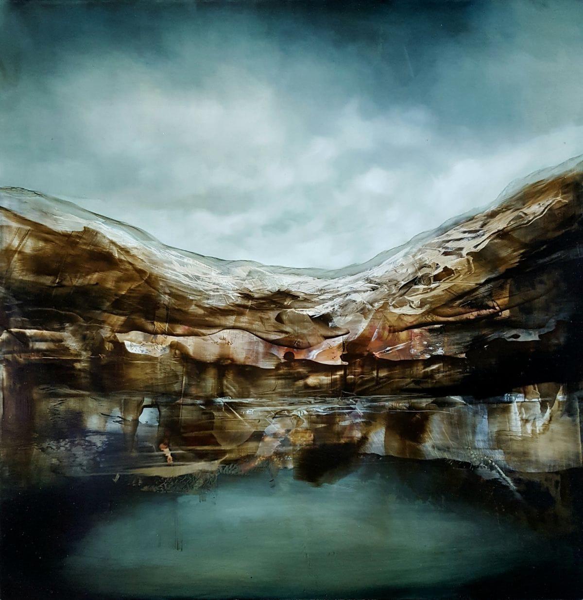 Kunst: the remote king II van kunstenaar Joachim van der Vlugt