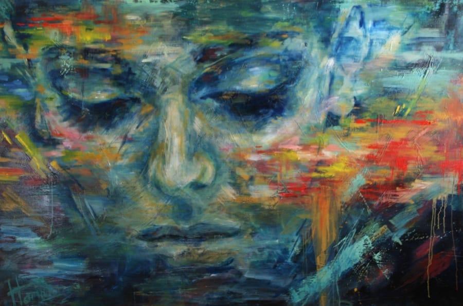 Kunst: The Silence of Julia van kunstenaar Evelyn Hamilton