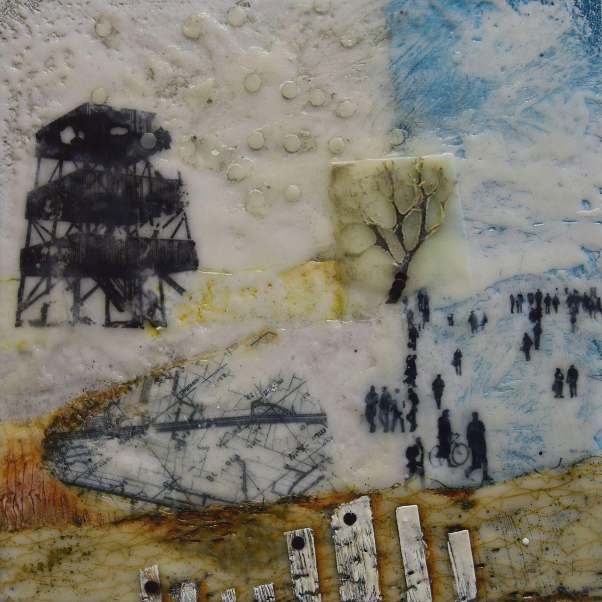 Kunst: The watchtower van kunstenaar Trijnie Mohlmann