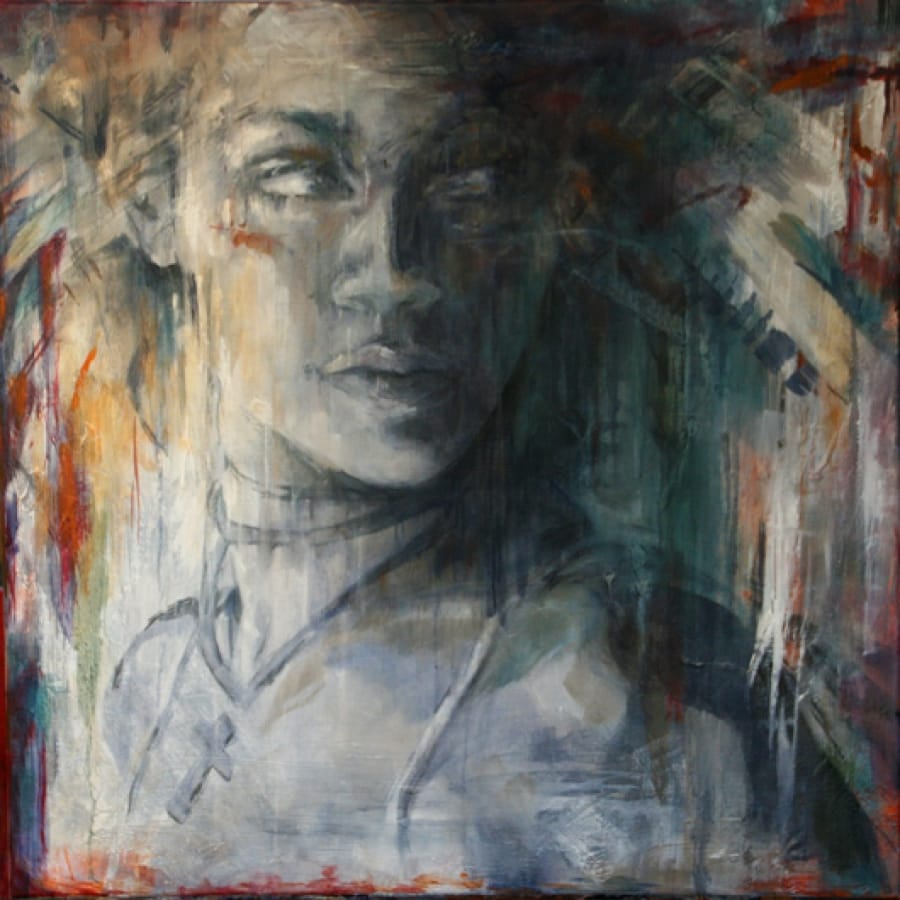 Kunst: The Wild One van kunstenaar Evelyn Hamilton