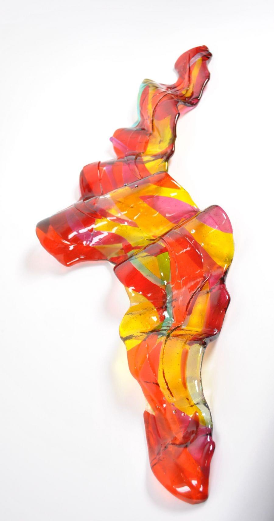 Kunst: the wind lifted me up into the air 1 van kunstenaar Angenelle Thijssen