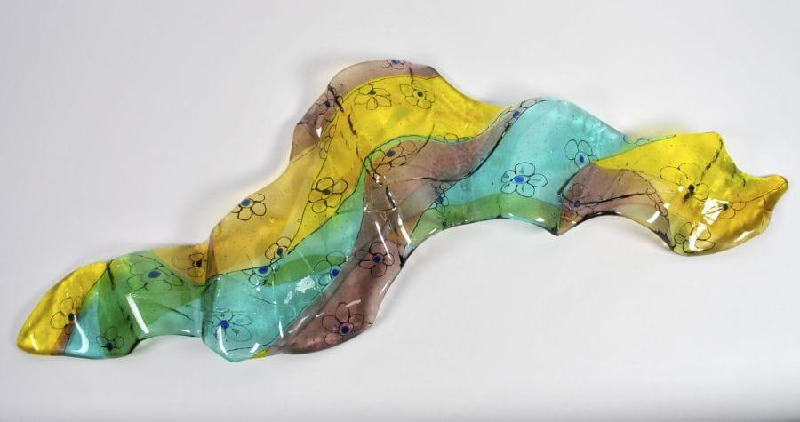 Kunst: the wind lifted me up into the air 3 van kunstenaar Angenelle Thijssen