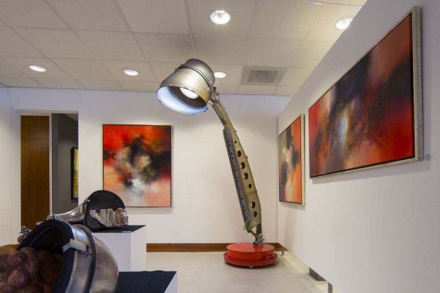 Kunst: think BIG van kunstenaar Marijn Wensveen