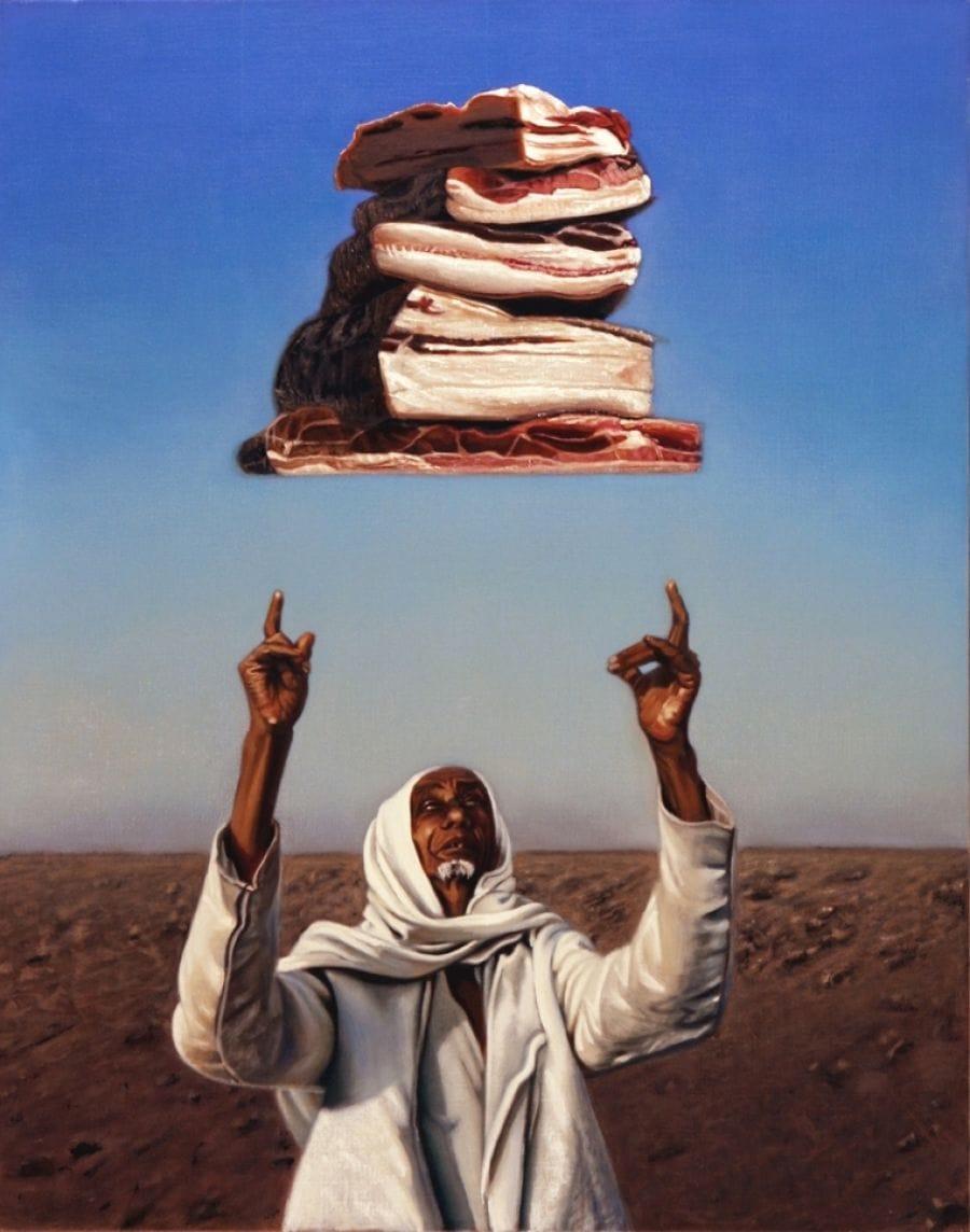 Kunst: thou shall not van kunstenaar Leo Wijnhoven