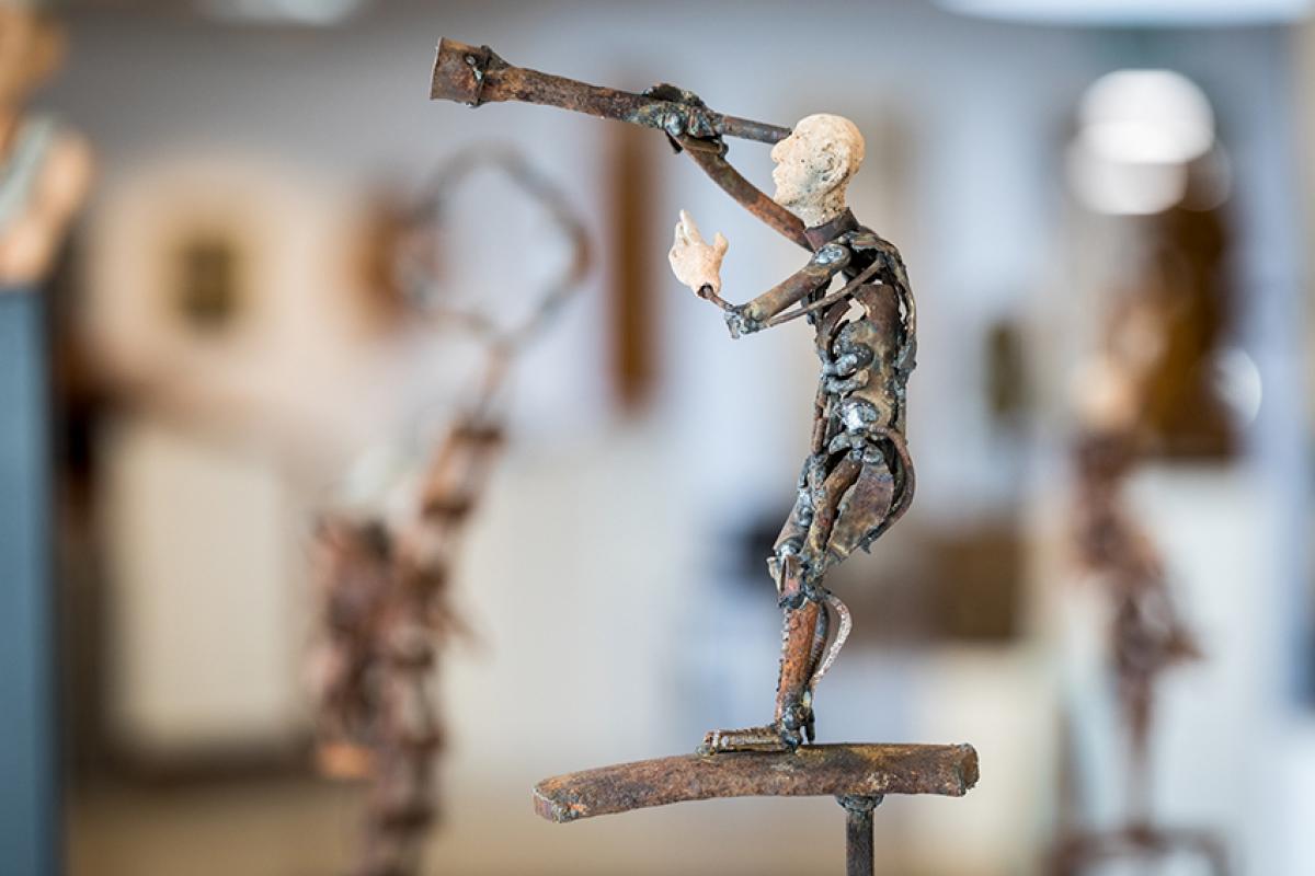 Kunst: Toekomstgericht van kunstenaar Jan Verschueren
