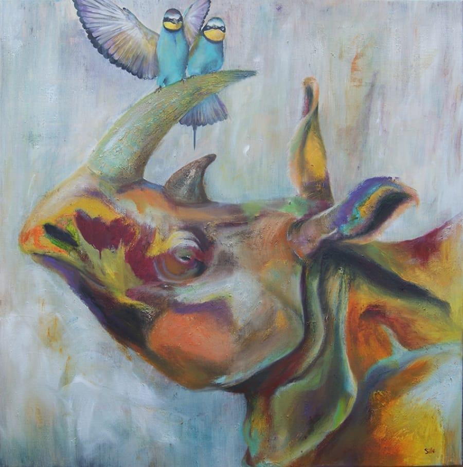 Kunst: Togetherness van kunstenaar Tamara Sille