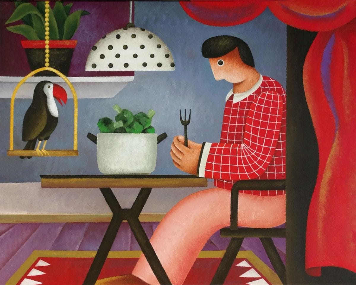 Kunst: Tom's diner van kunstenaar Yvonne Zomerdijk