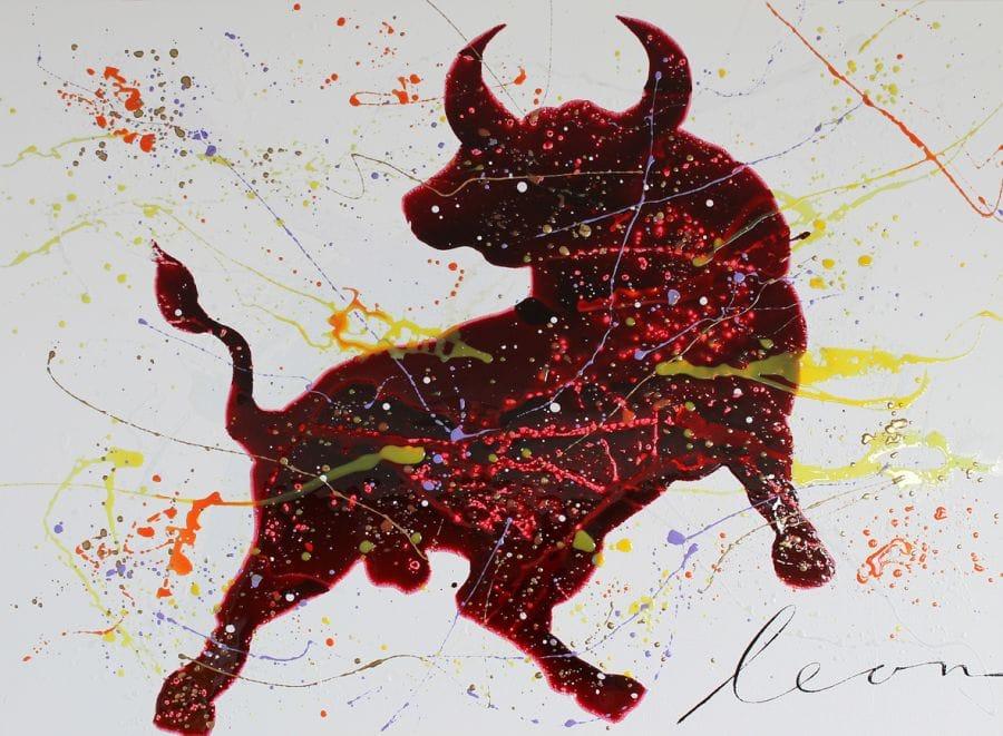 Kunst: Toro Pimiento van kunstenaar Leon Bosboom