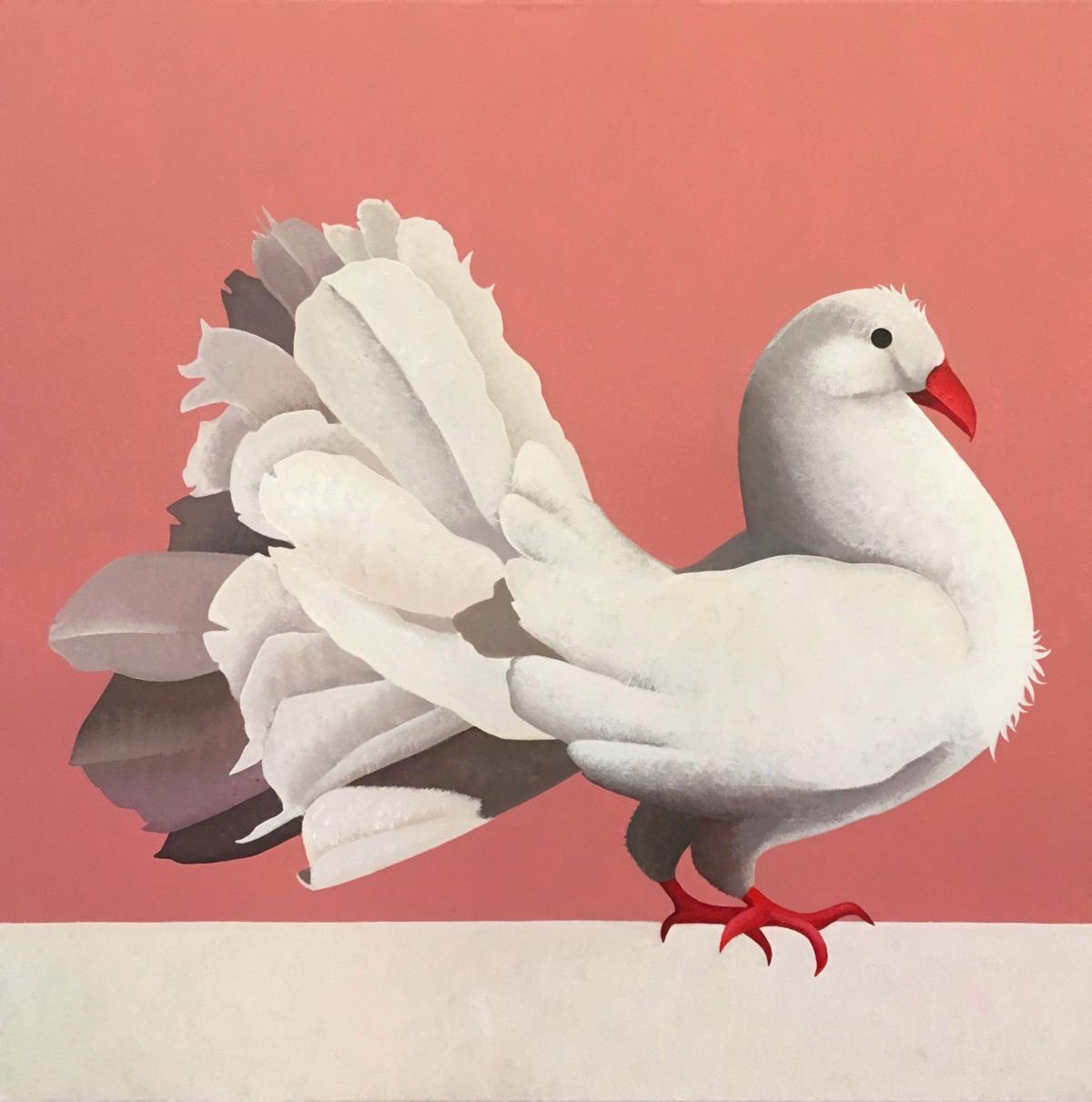 Kunst: Tortelduif van kunstenaar Yvonne Zomerdijk