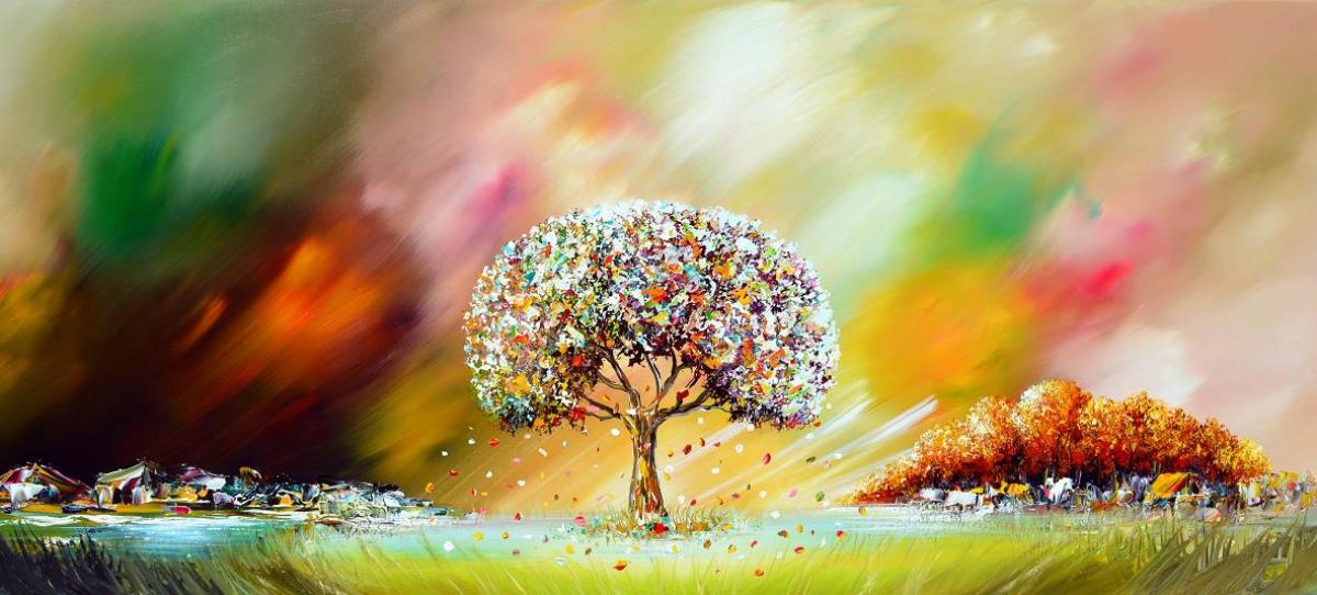 Kunst: Tree of Life van kunstenaar Gena n Gena