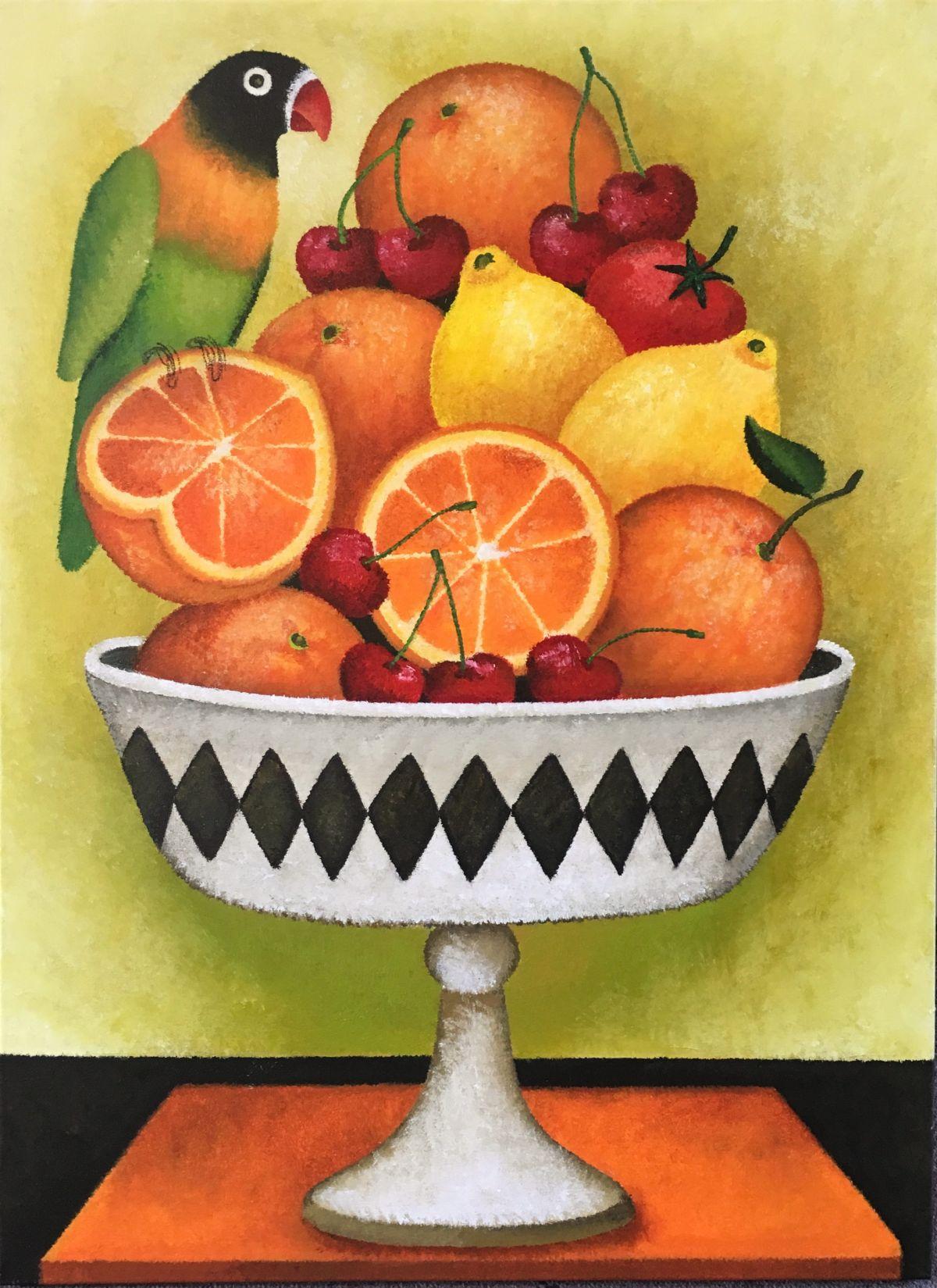 Kunst: Tutti frutti van kunstenaar Yvonne Zomerdijk