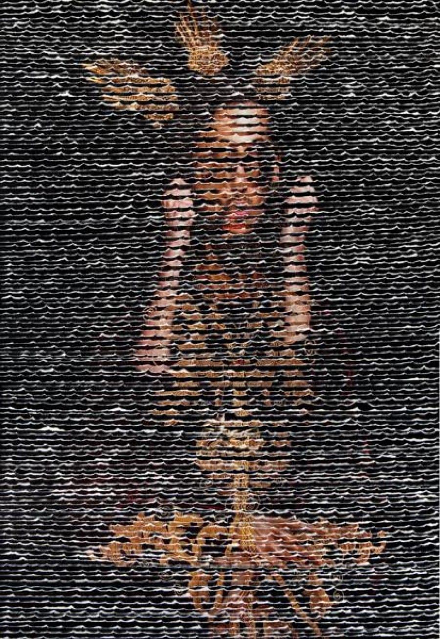Kunst: Twee inconen van kunstenaar Ferial Kheradpicheh