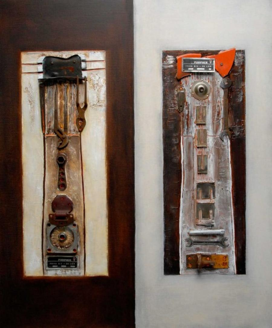 Kunst: Twin tools van kunstenaar Els Vegter