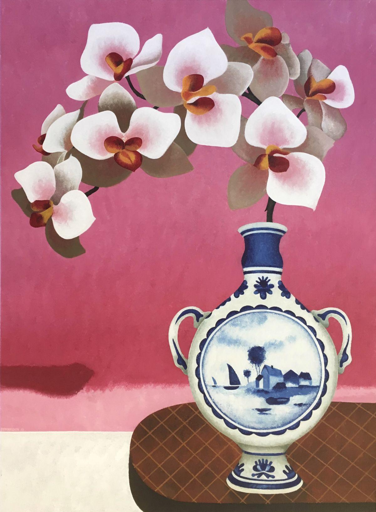 Kunst: Twinkel pink van kunstenaar Yvonne Zomerdijk