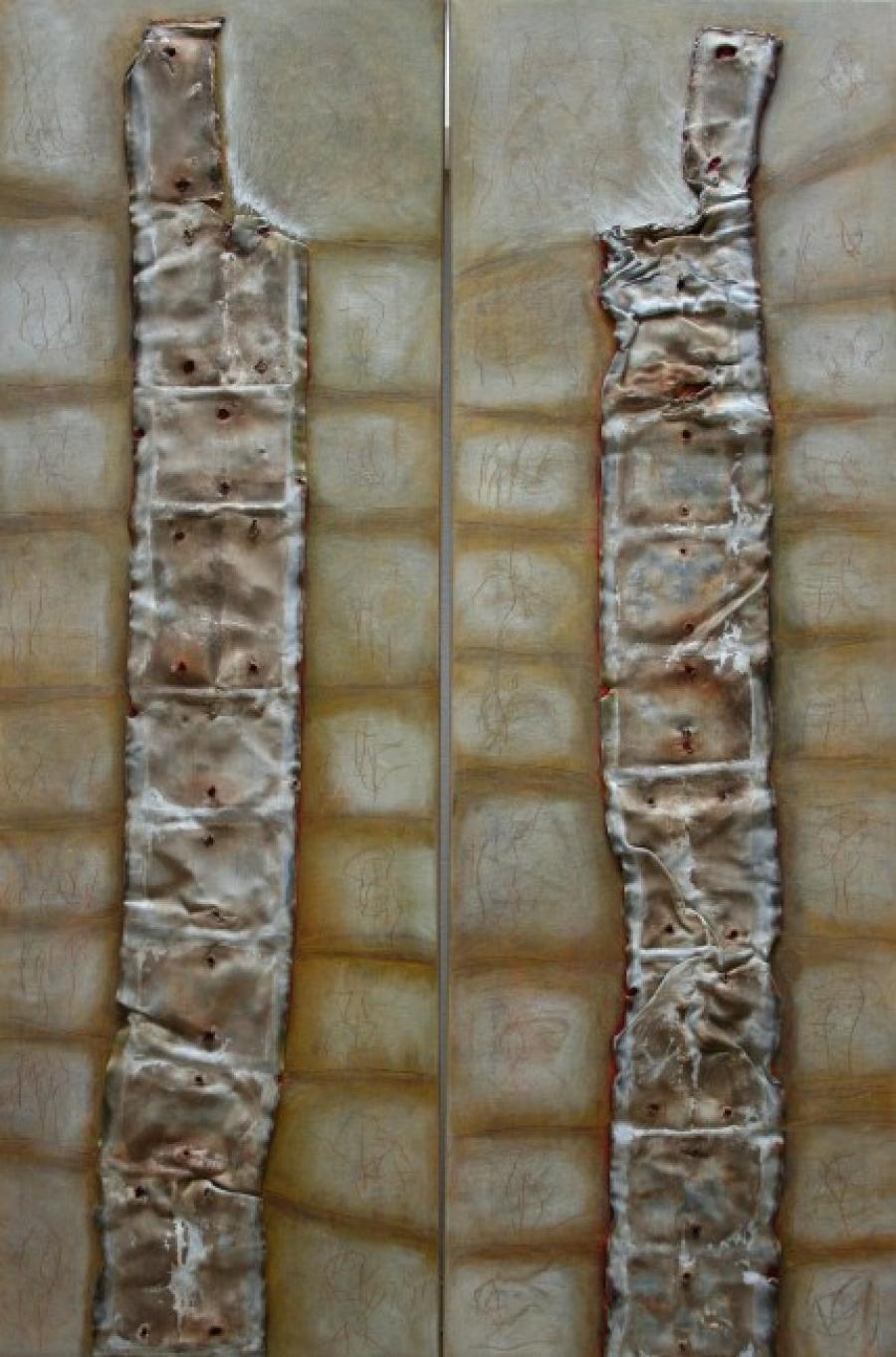 Kunst: Twins – tweeluik van kunstenaar Els Vegter